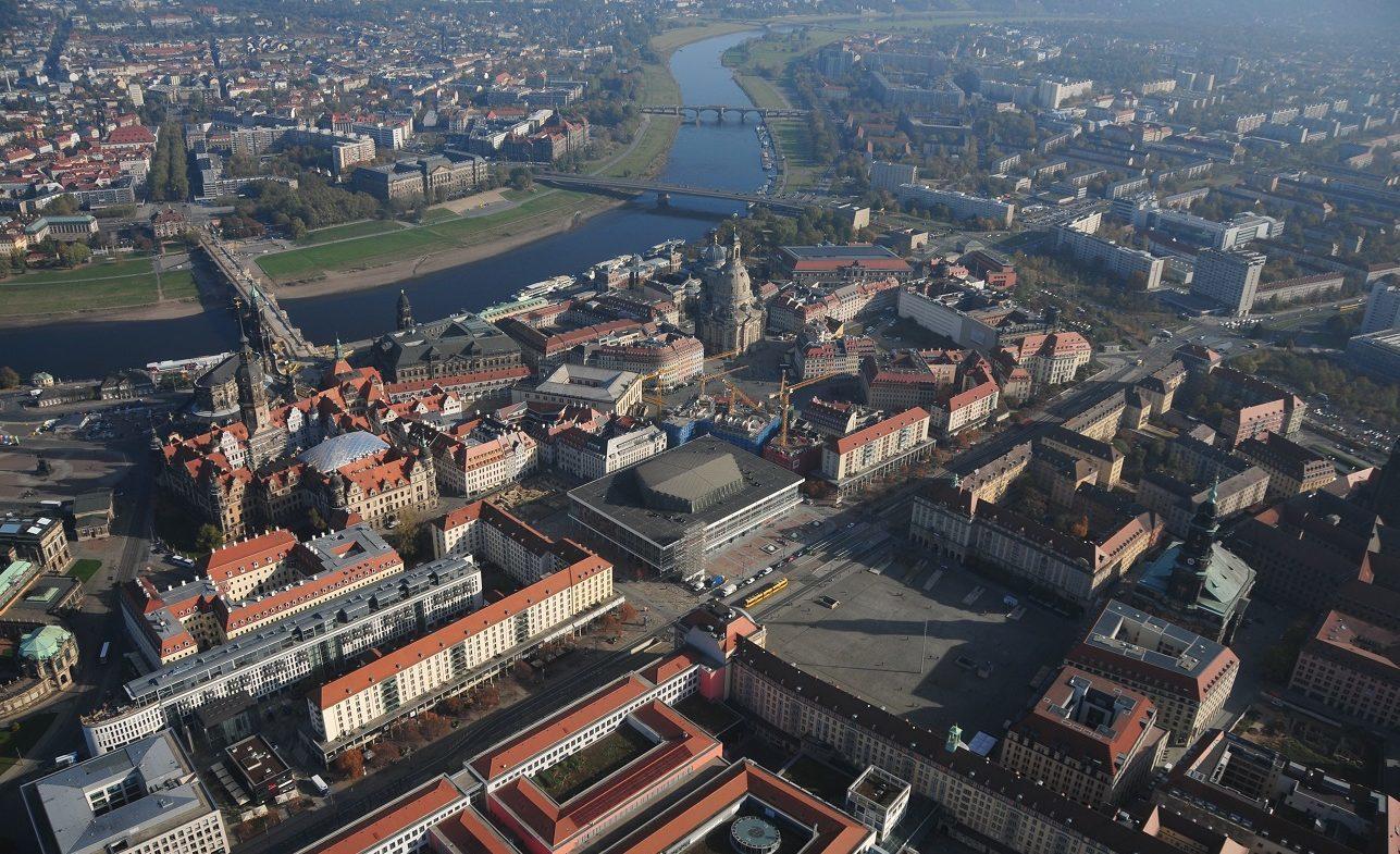 Kirchgemeinden der beiden Dresdner Kirchenbezirke